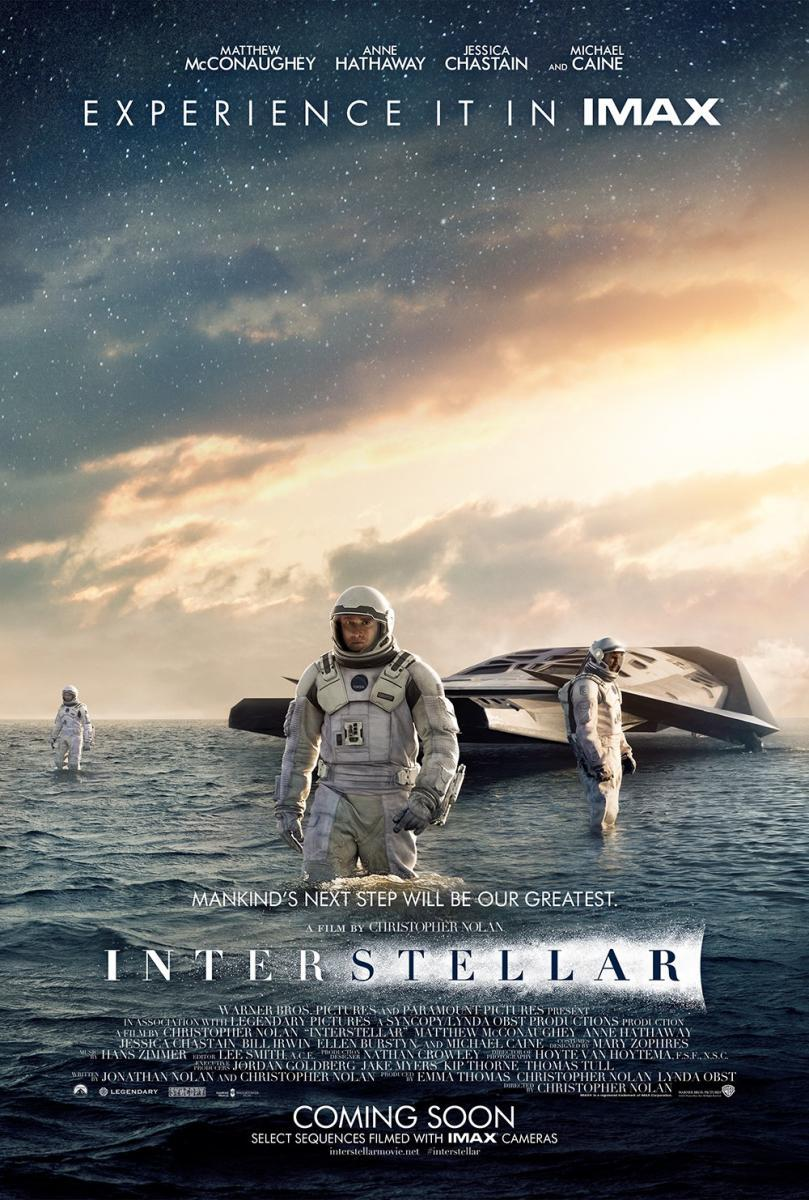Cartel de Interstellar