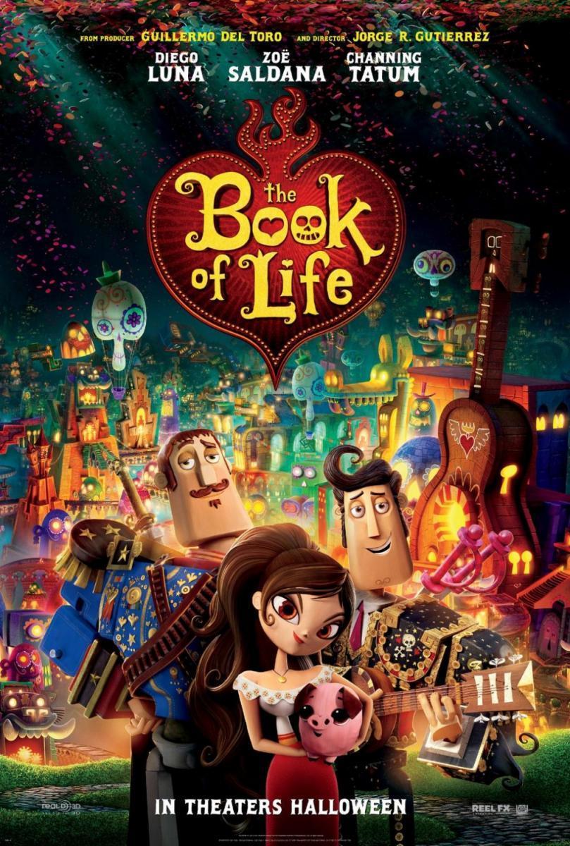 Cartel El libro de la vida