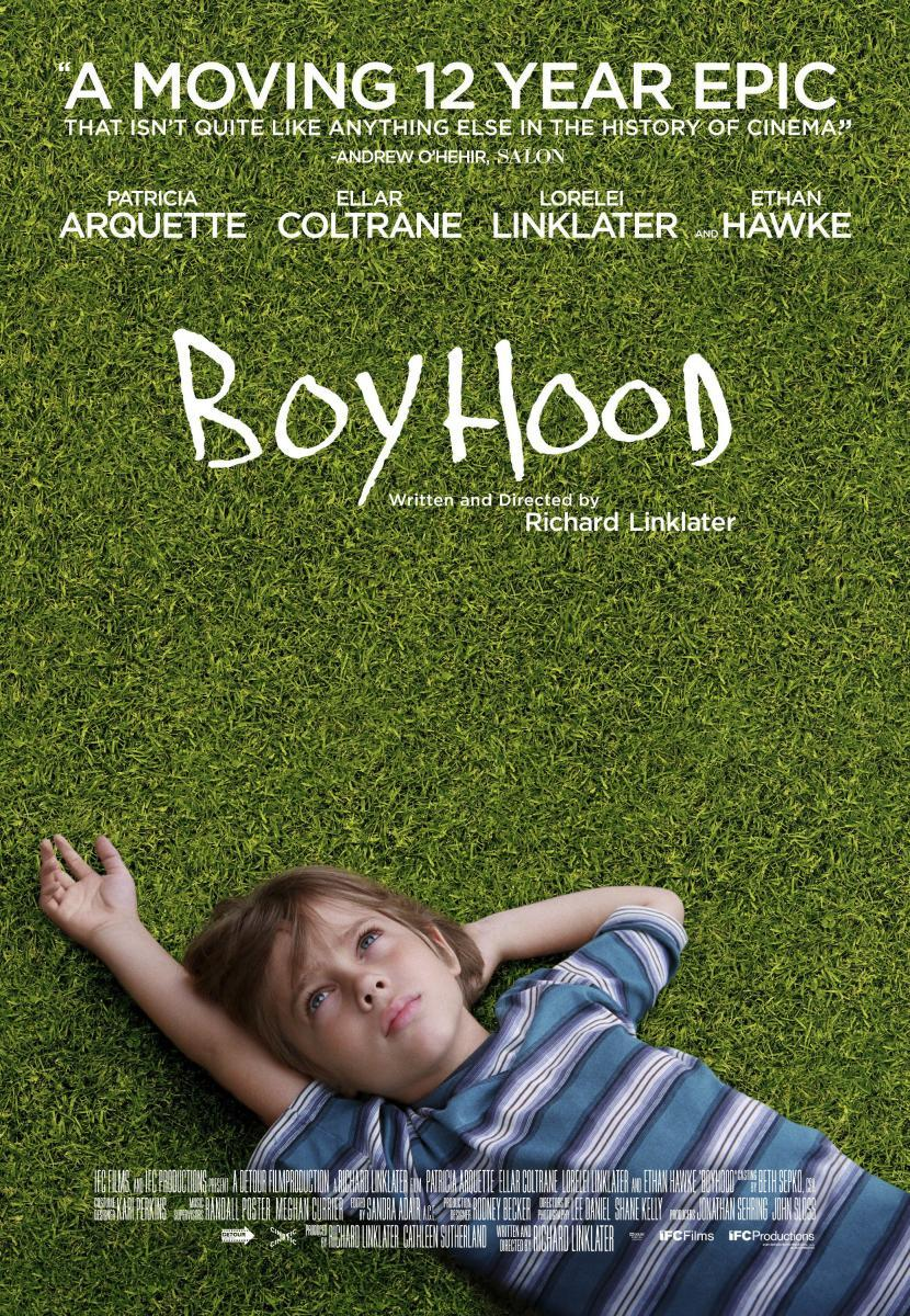 Cartel de Boyhood