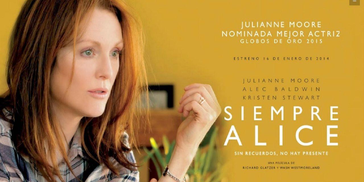 Cartel de Siempre Alice
