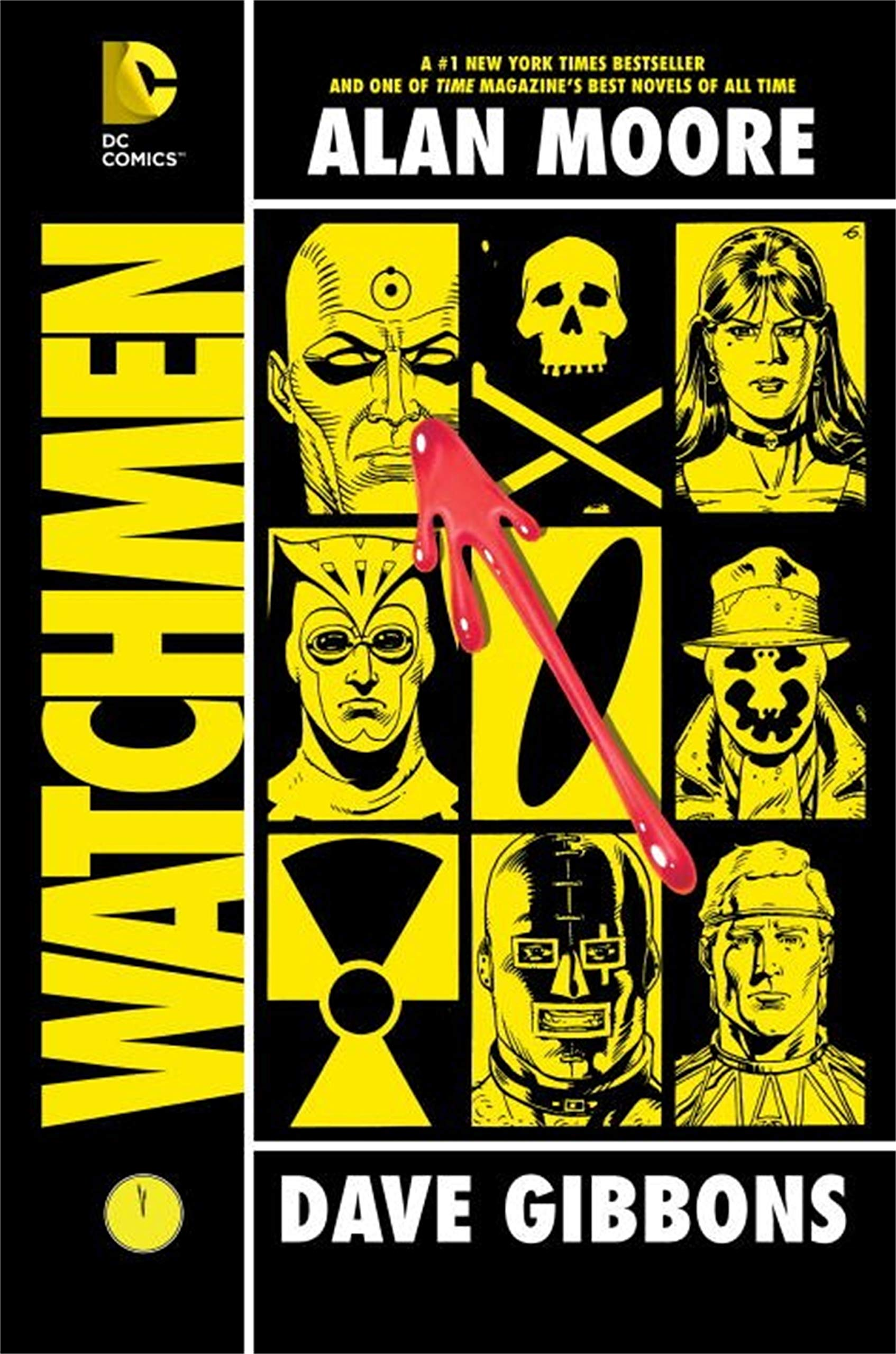 Portada del cómic de Watchmen