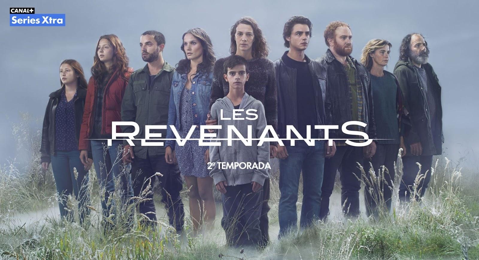 Cartel de la temporada 2 de Les revenants