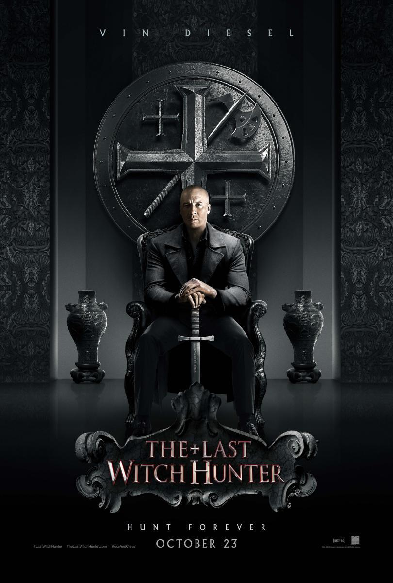 Cartel de El último cazador de brujas