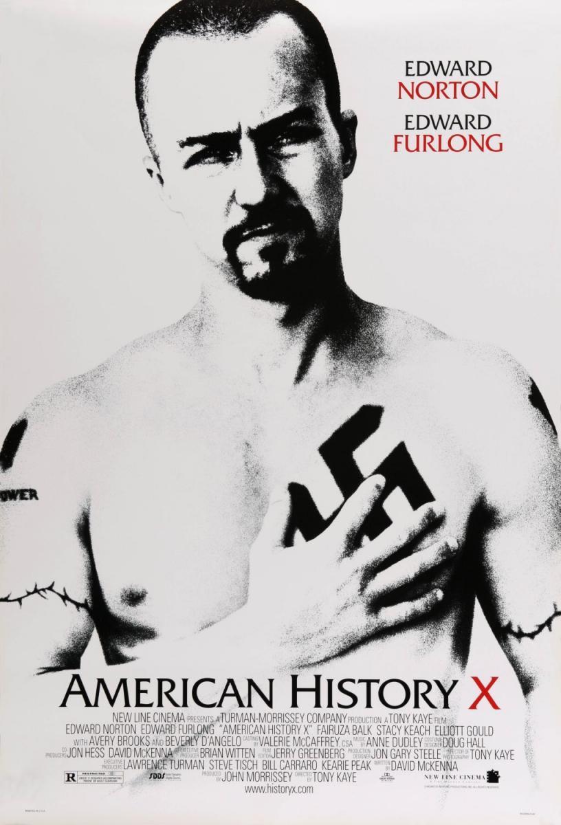 Cartel de American Story X