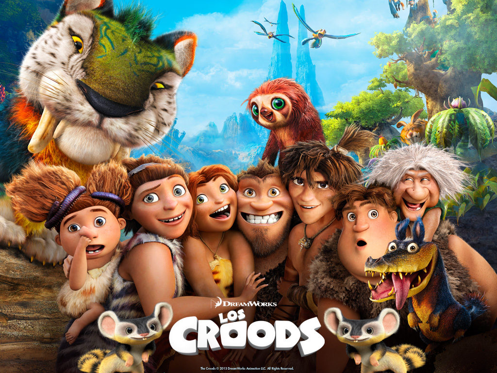 Cartel de Los Croods