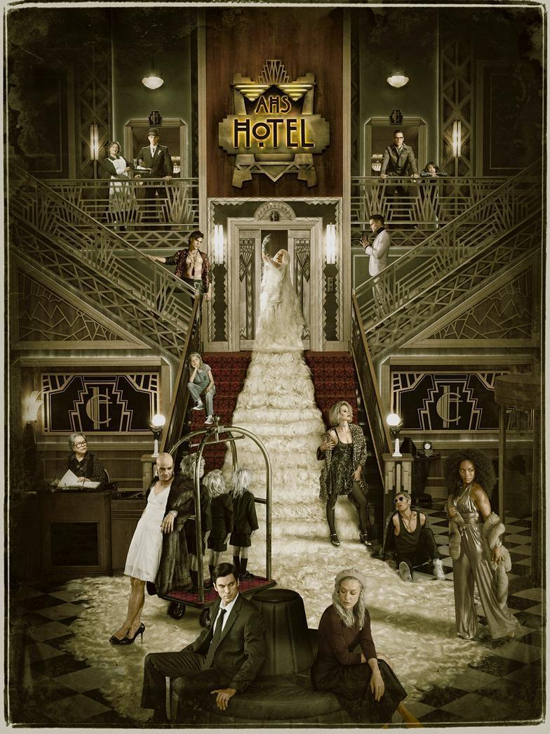 Cartel de American Horror Story Hotel