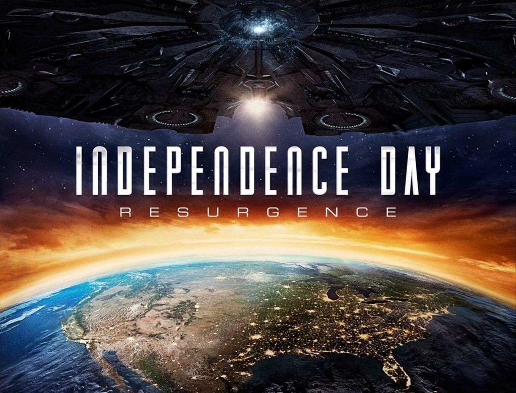 Cartel de Independence Day: Contraataque