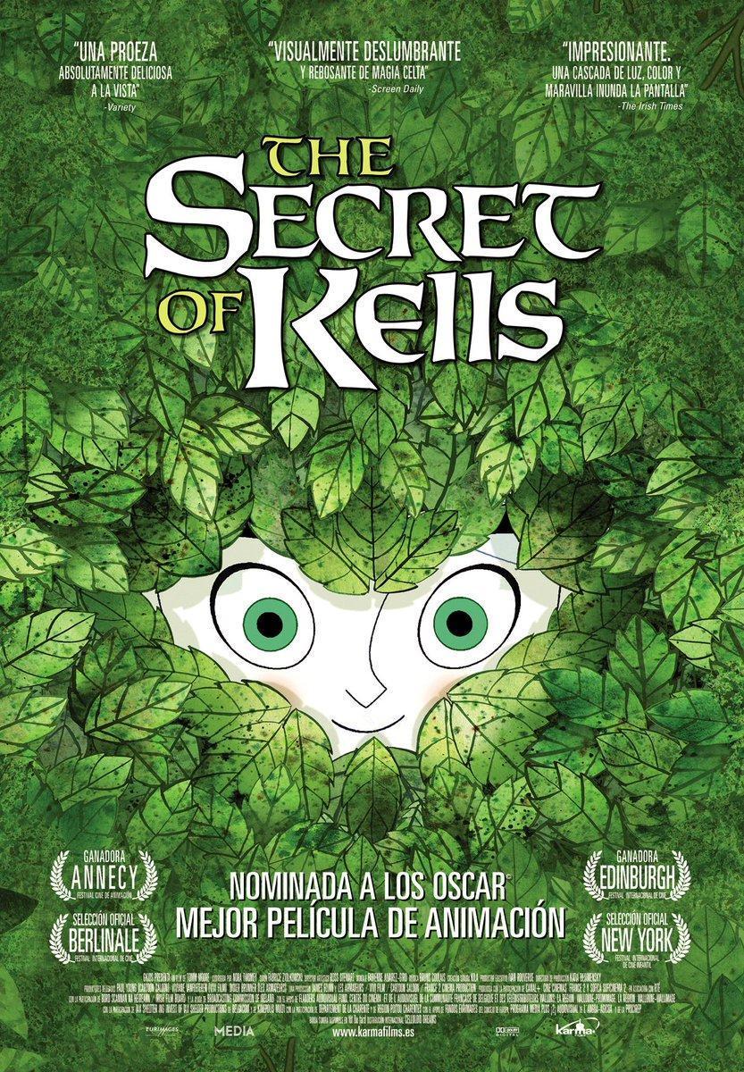 Cartel de El secreto del libro de Kells