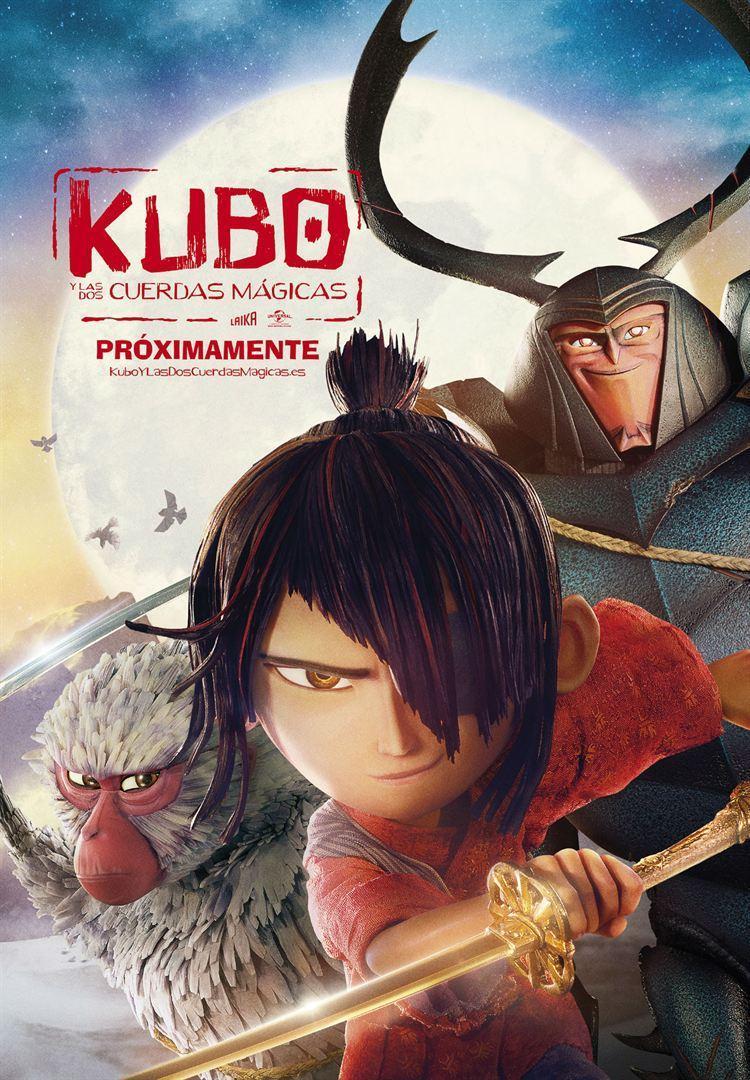 Cartel de Kubo y las dos cuerdas mágicas