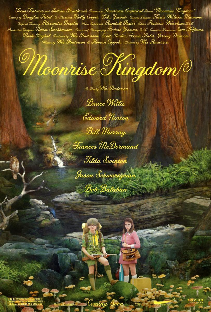 Cartel de Moonrise Kingdom
