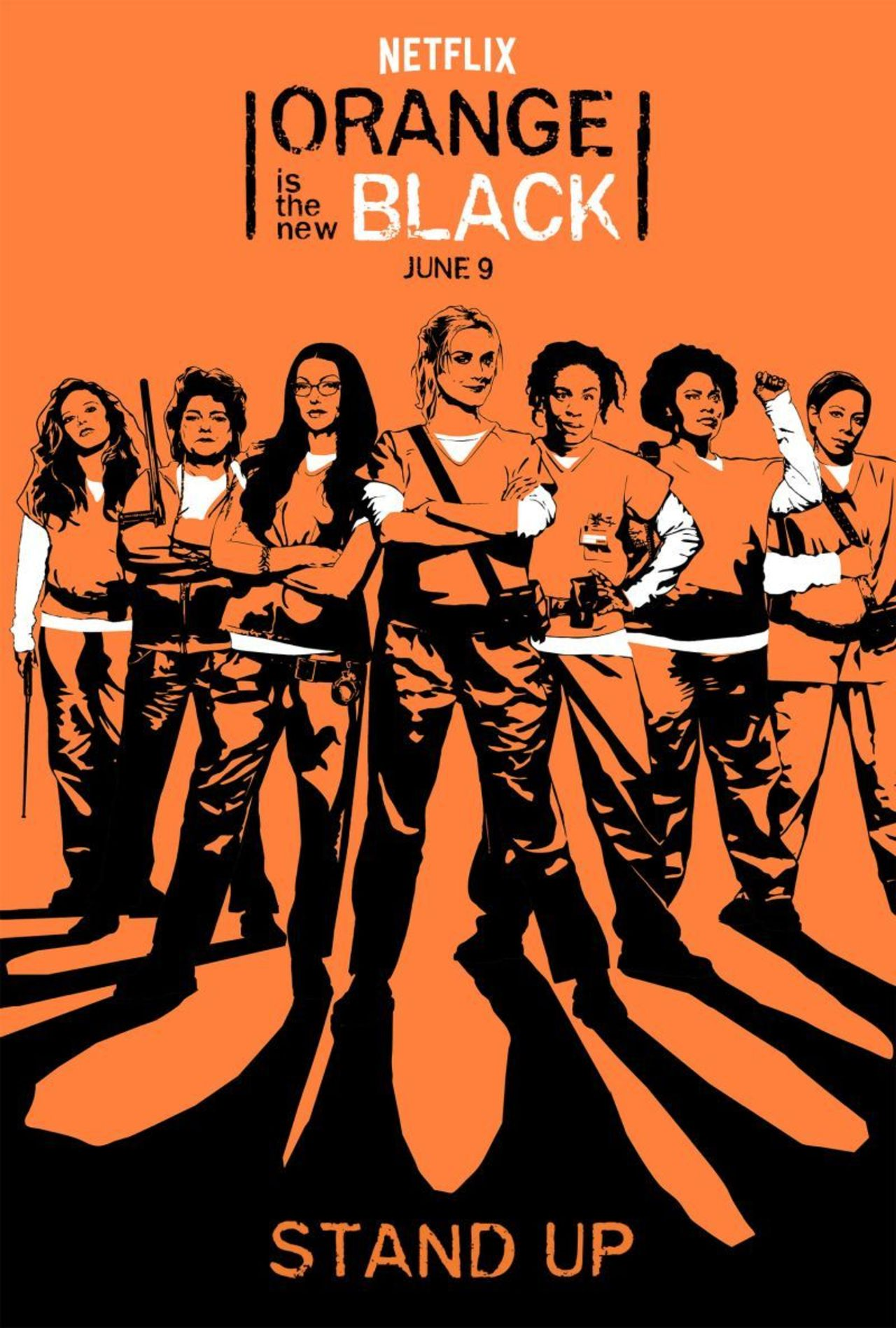 Cartel de la temporada 5 de Orange is the new black