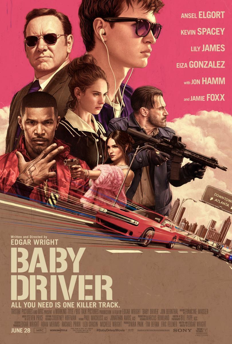 Cartel de Baby Driver