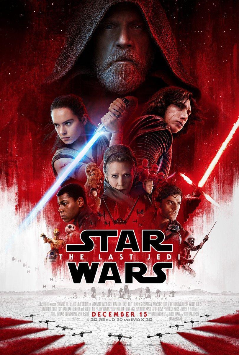 Cartel de Star Wars: Los últimos Jedi