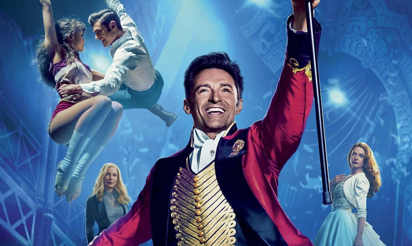 Cartel de El gran showman