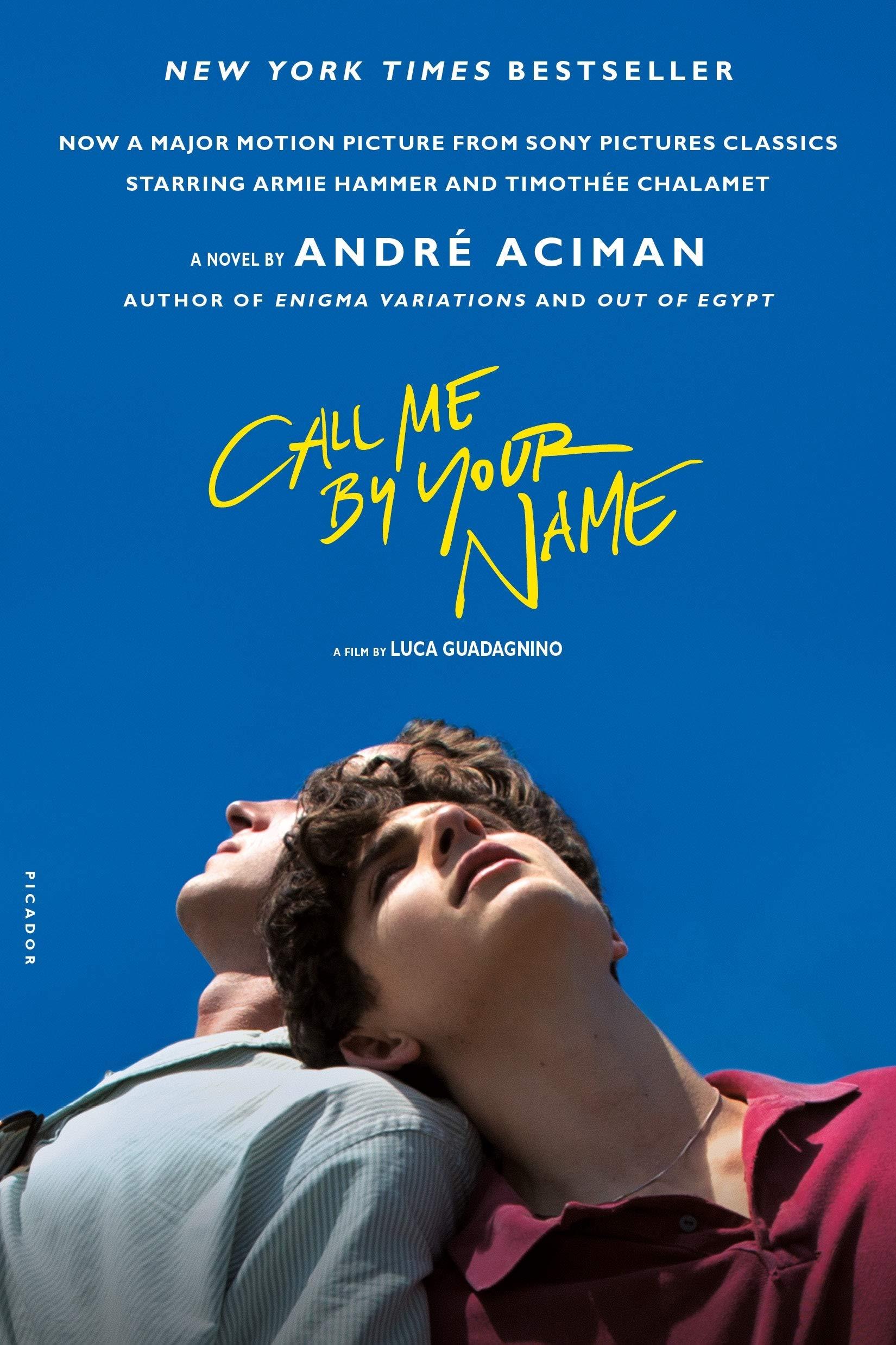 Cartel de Call me by your name