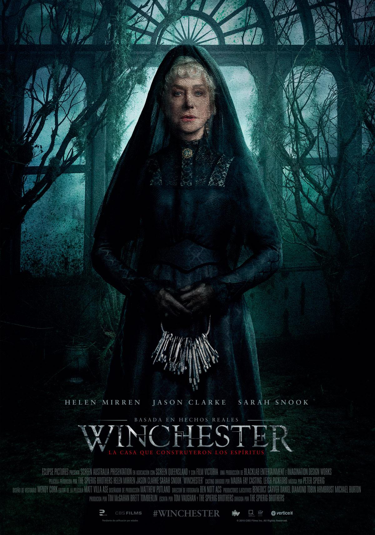 Cartel de Winchester: La casa que construyeron los espíritus