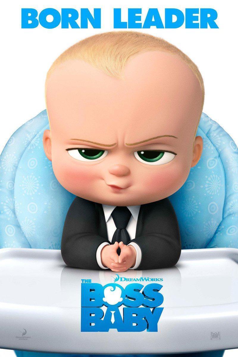 Cartel de El bebé jefazo