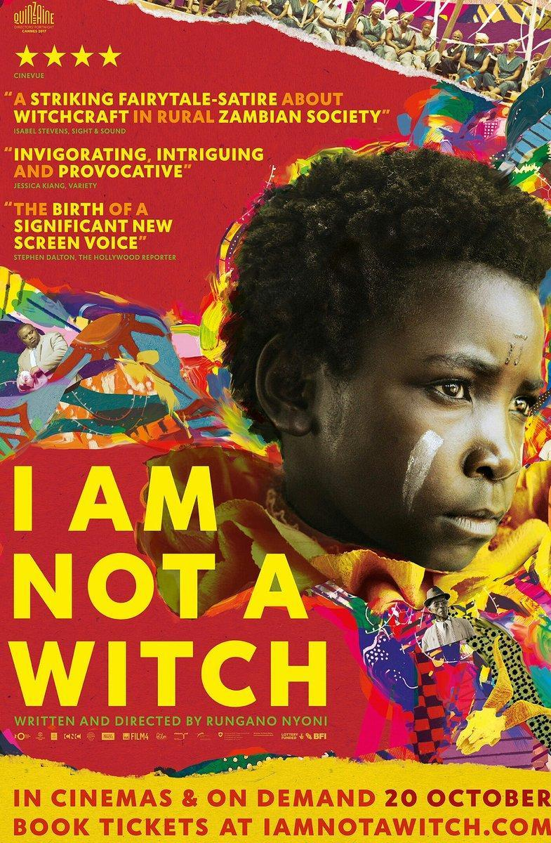 Cartel de I Am Not a Witch