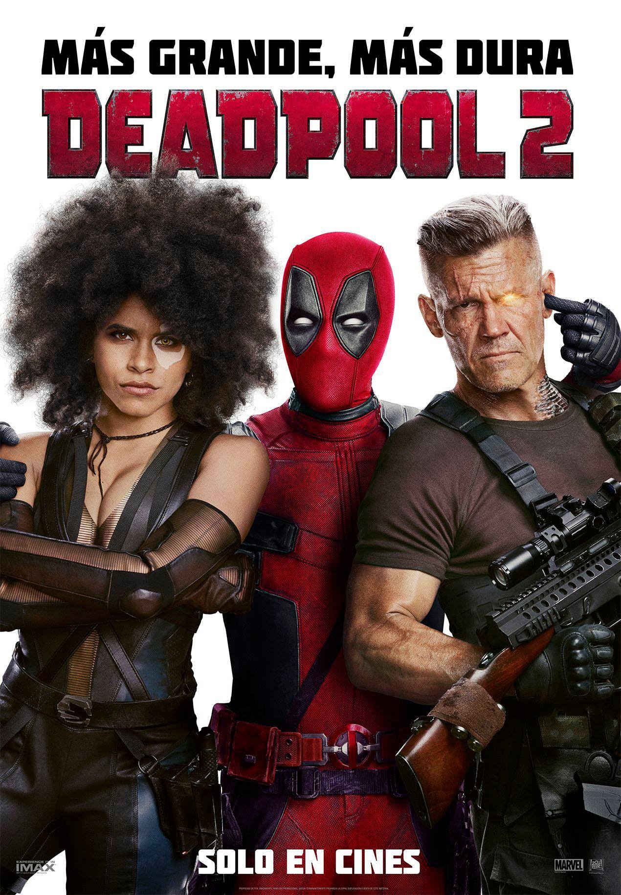 Cartel de Deadpool 2