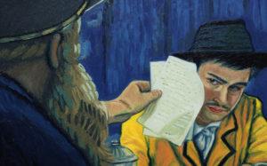 Escena de la película Loving Vincent