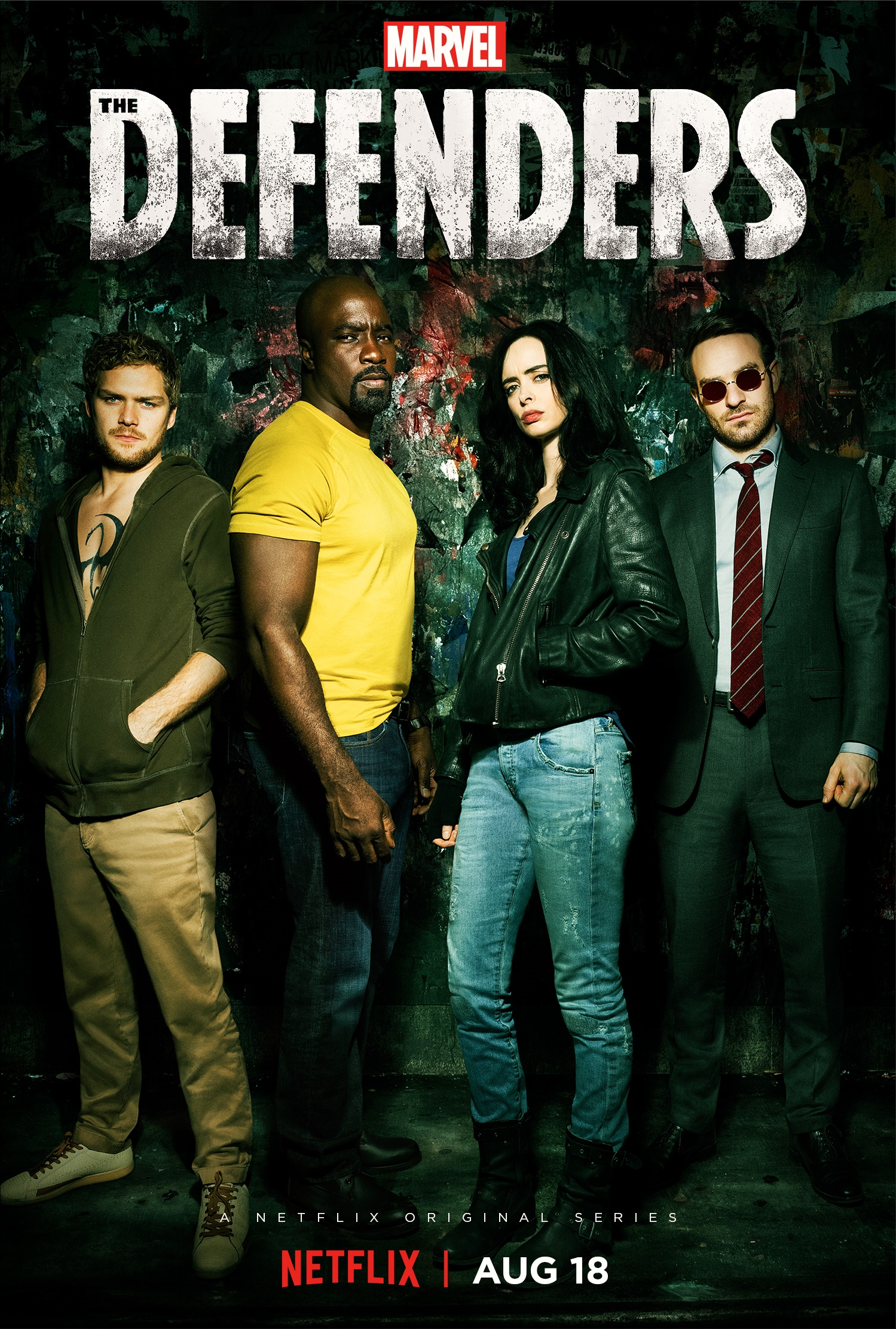 Opinión sobre la serie The Defenders