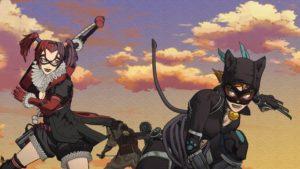 Catwoman y Harley Quinn en Batman Ninja