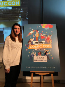 Ana Oncina es la autora del cartel de este año