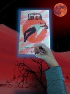 Composición con La tierra de la luna roja