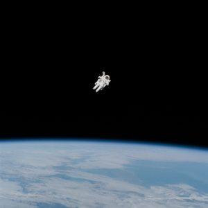 Imagen de astronauta. Fuente: Unplash