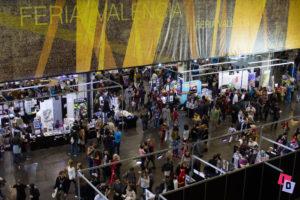 Vistas de uno de los pabellones de Héroes Comic Con Valencia