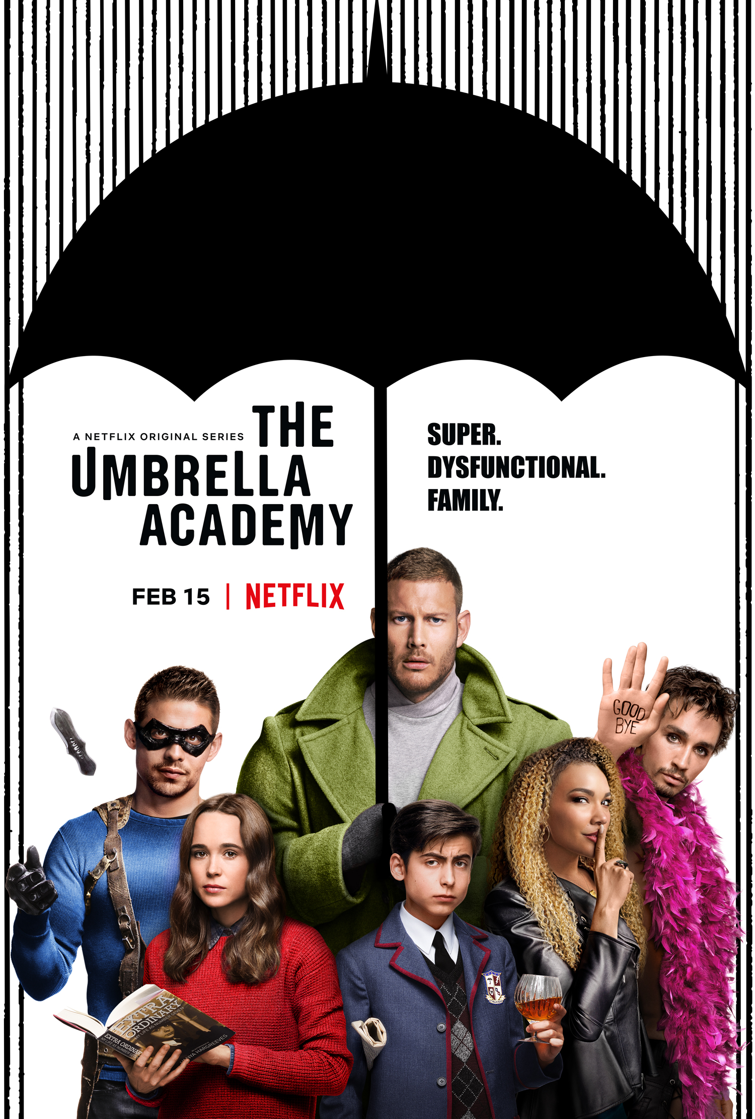 5 razones para ver The Umbrella Academy