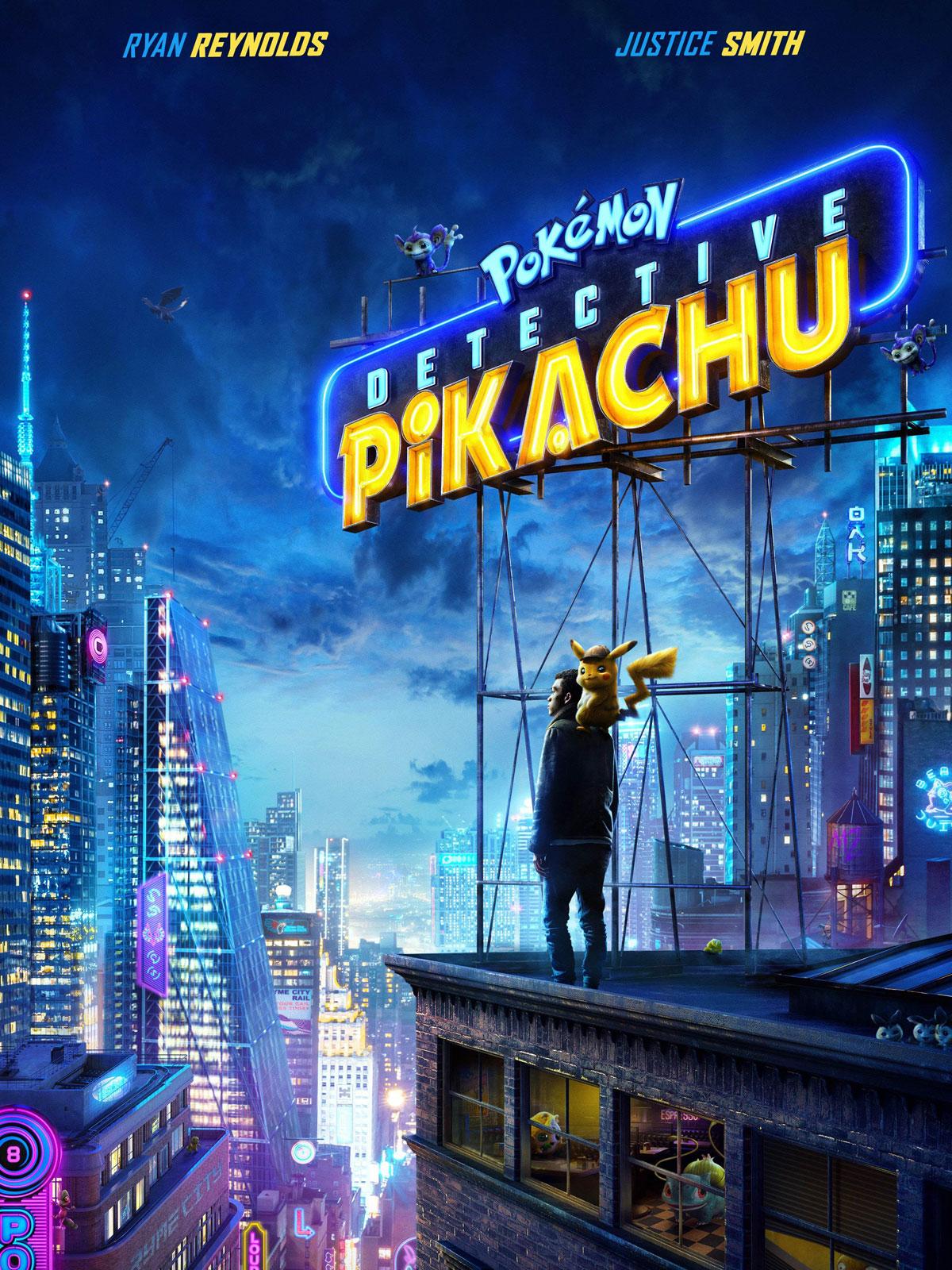 Cartel de Detective Pikachu