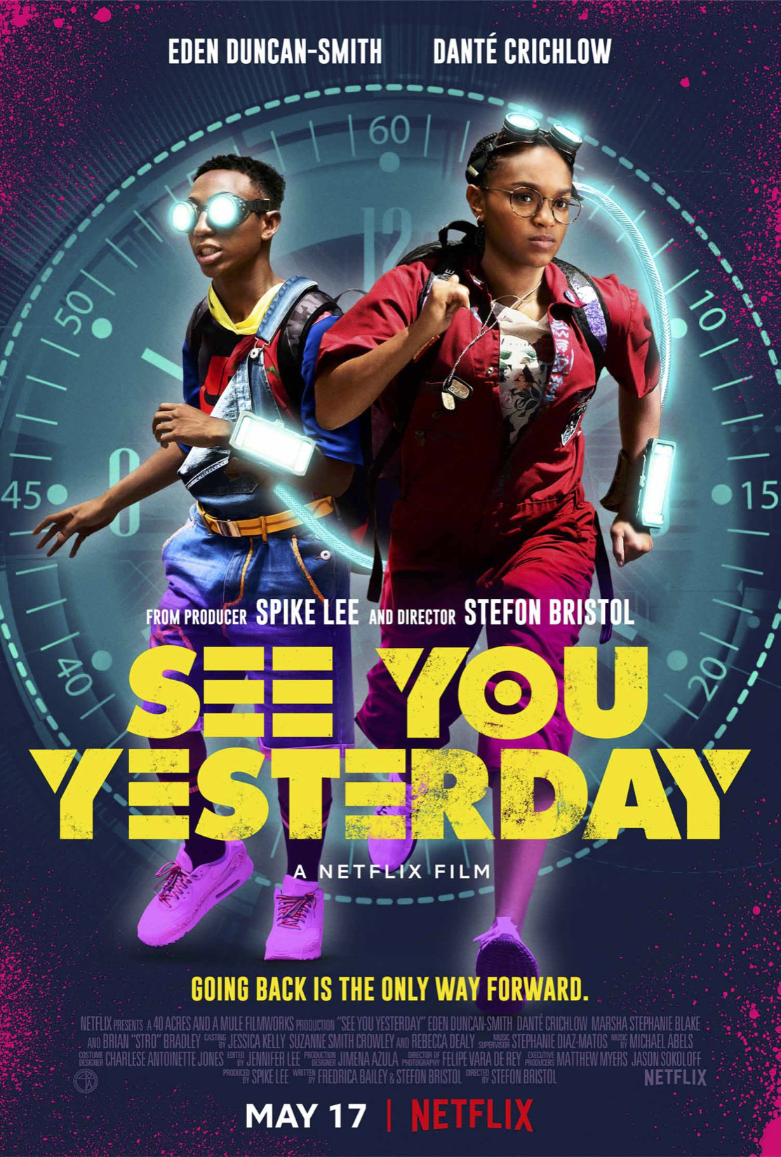 Cartel de See You Yesterday