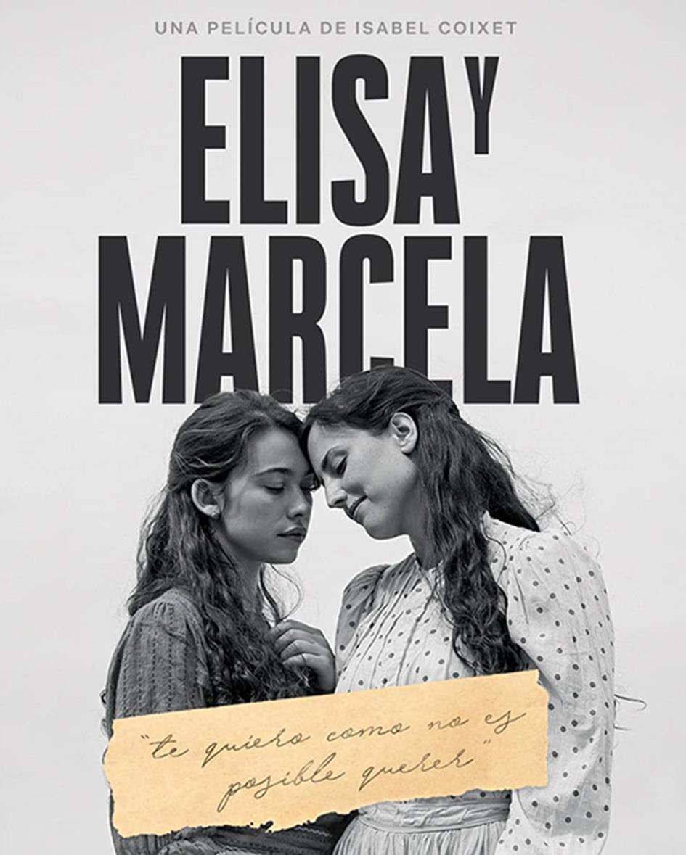 Cartel de Elisa y Marcela