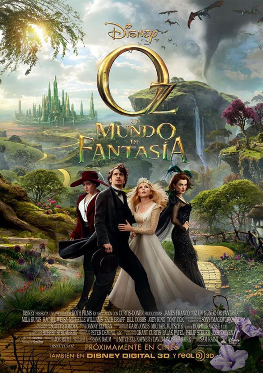 Cartel de Oz un mundo de fantasía