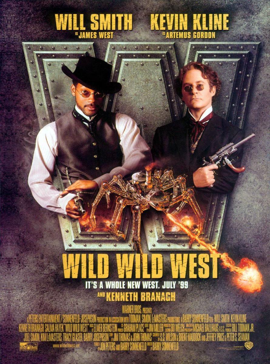 Cartel de Wild Wild West