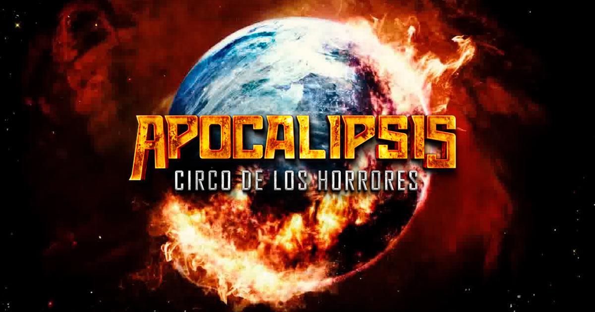 Cartel El circo de los horrores Apocalipsis
