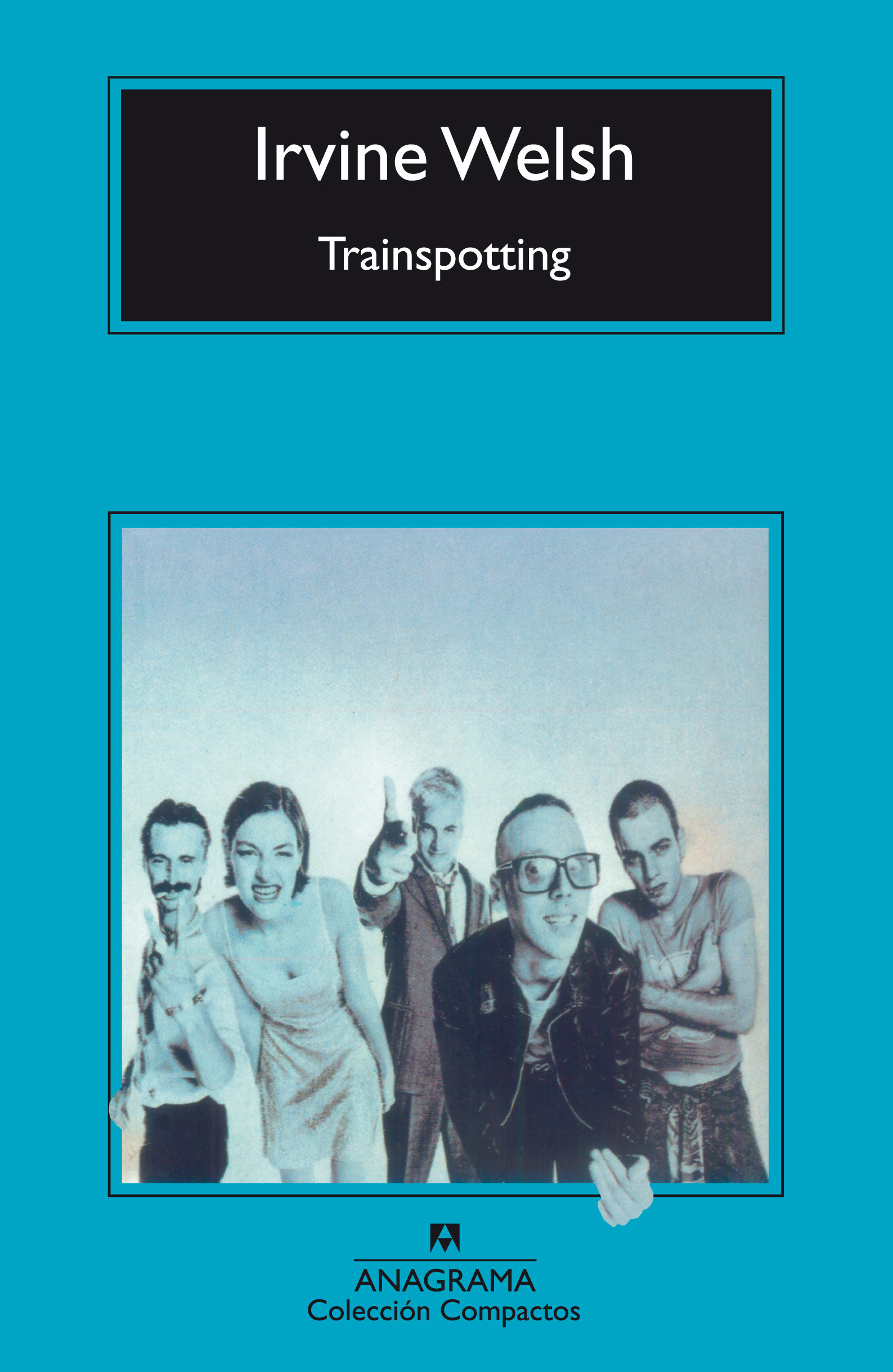 Portada de Trainspotting