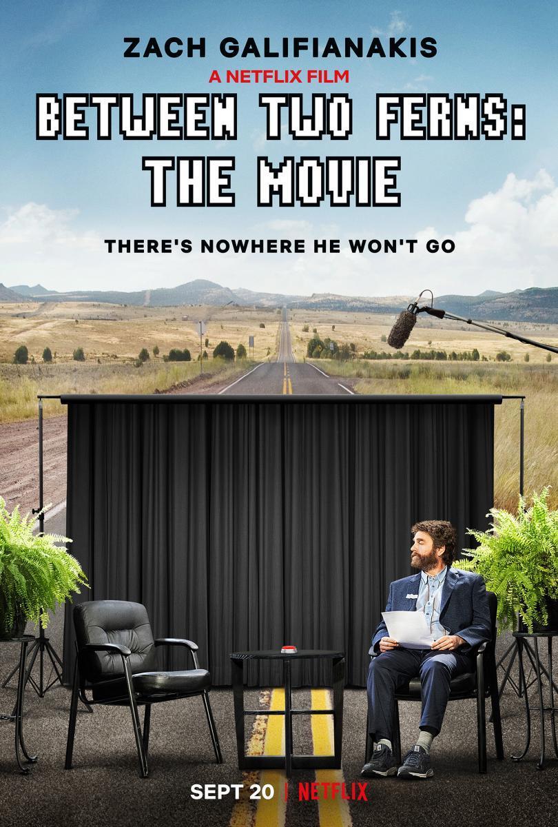 Cartel de Entre dos helechos: La película
