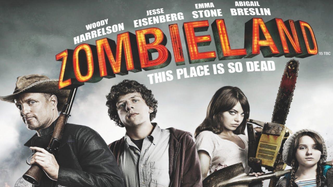 Cartel de Bienvenidos a Zombieland