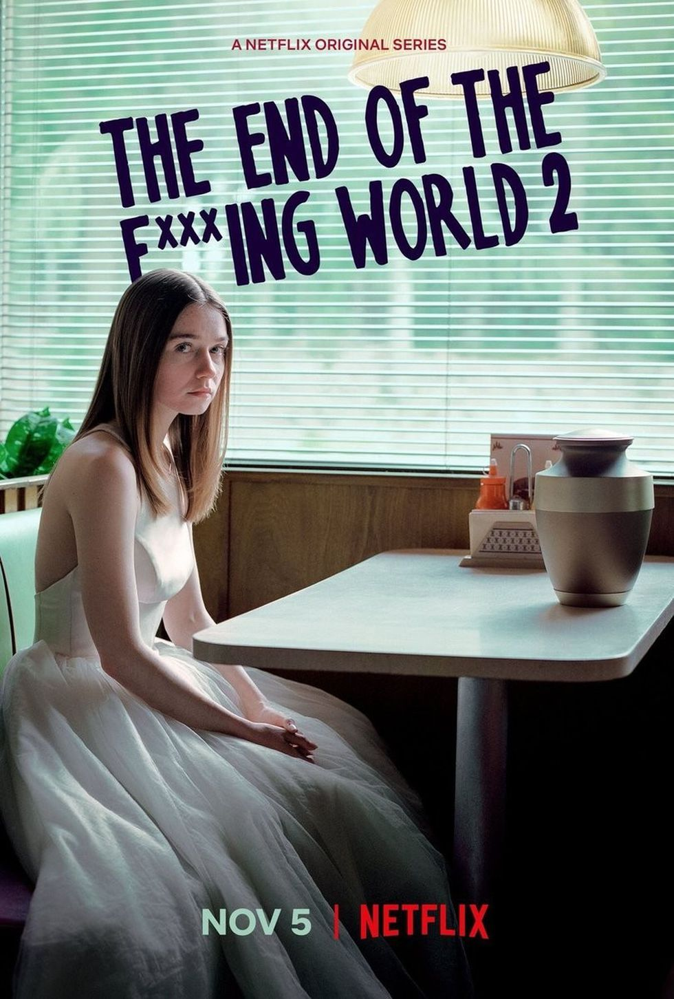 Cartel de The end of the fucking world