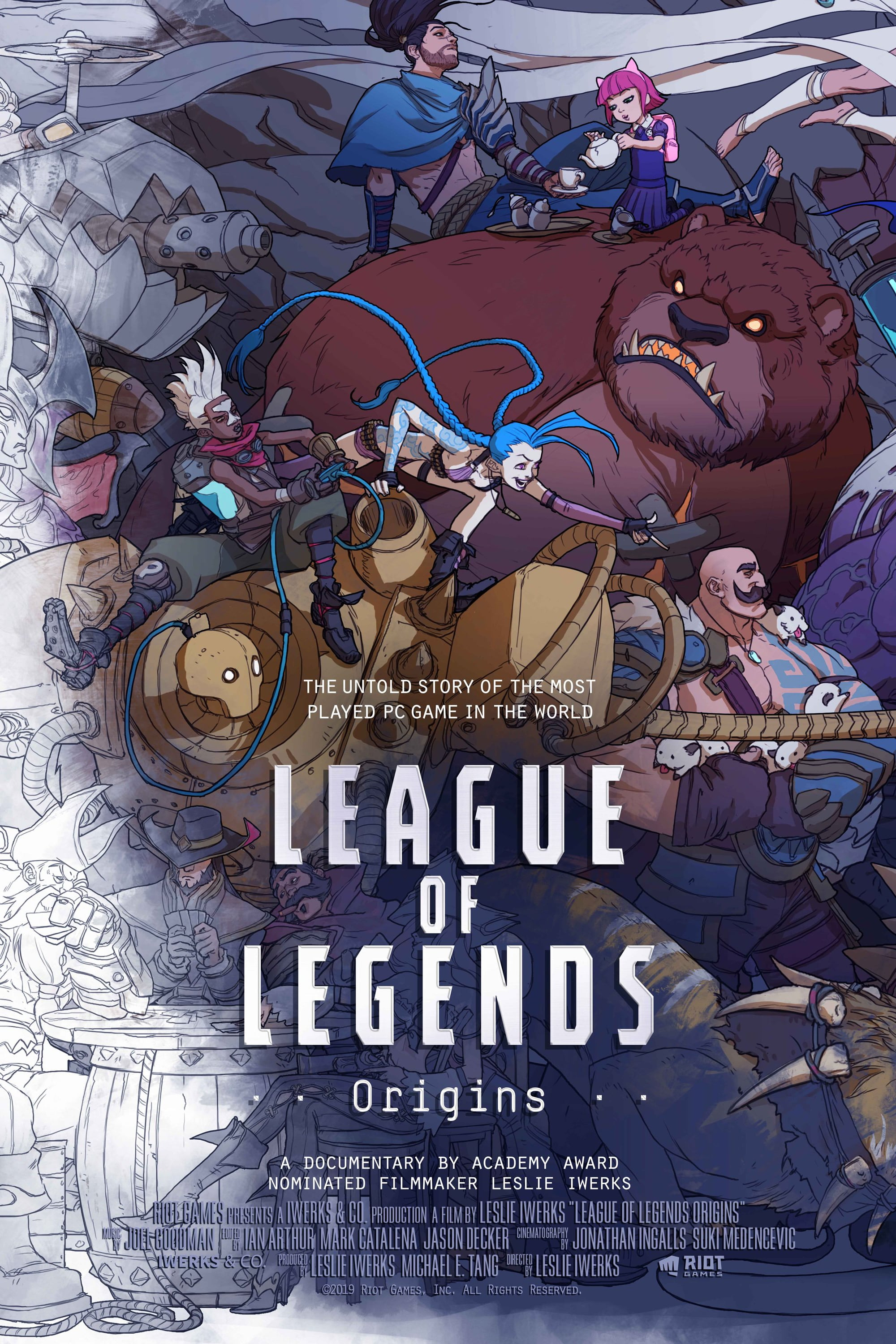 Cartel de League of Legends: Origins