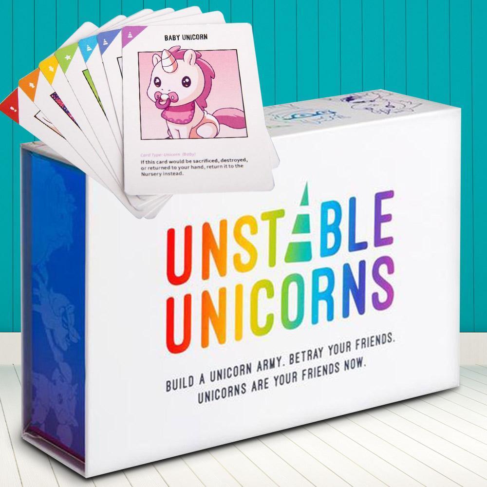 Jugar a Unestable Unicorns