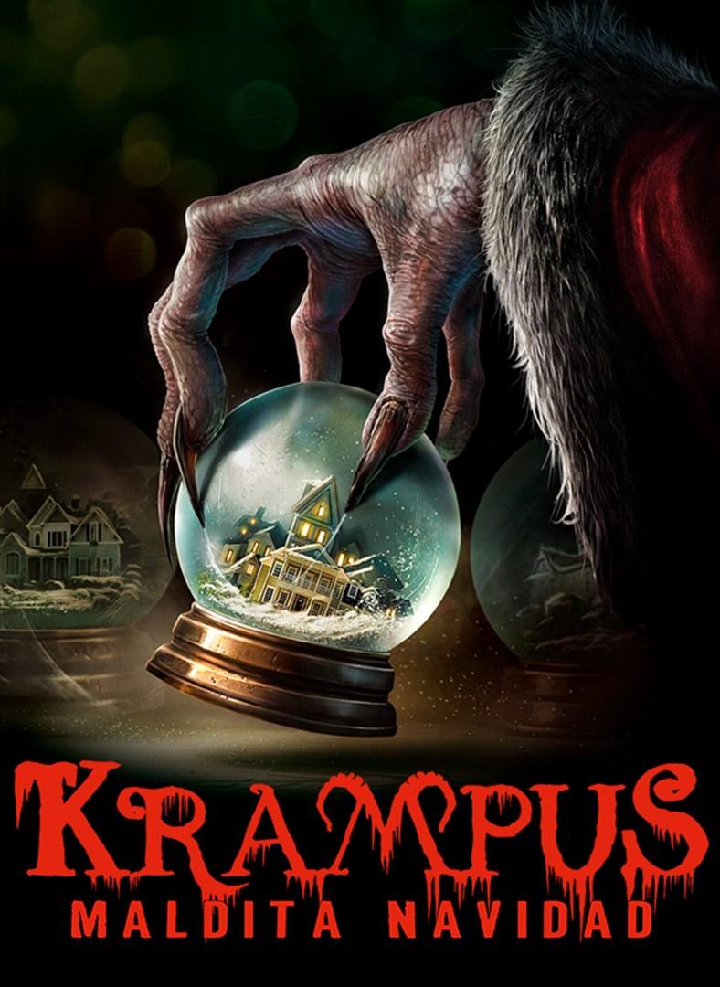 Cartel de Krampus, maldita navidad