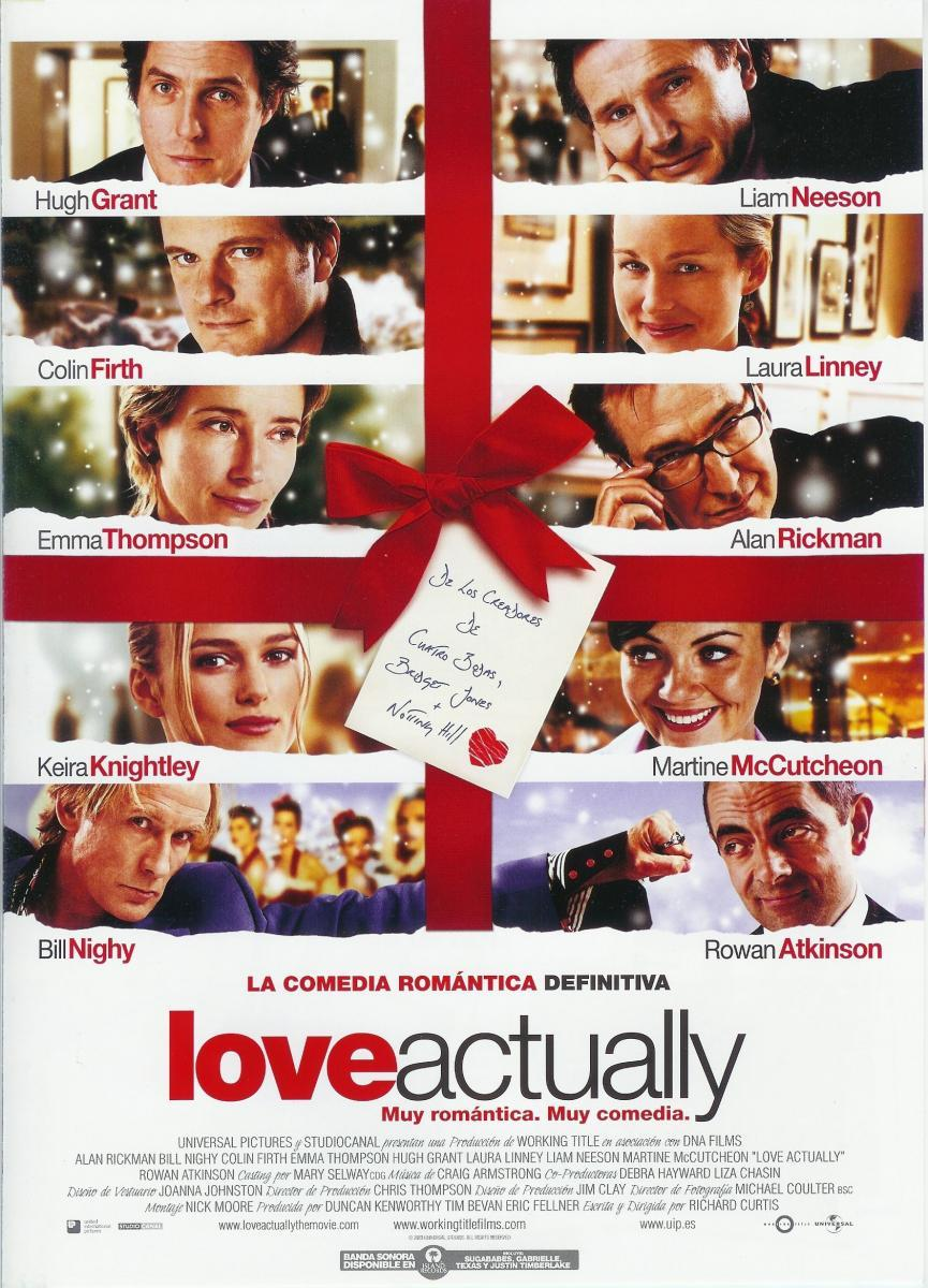 Cartel de Love Actually