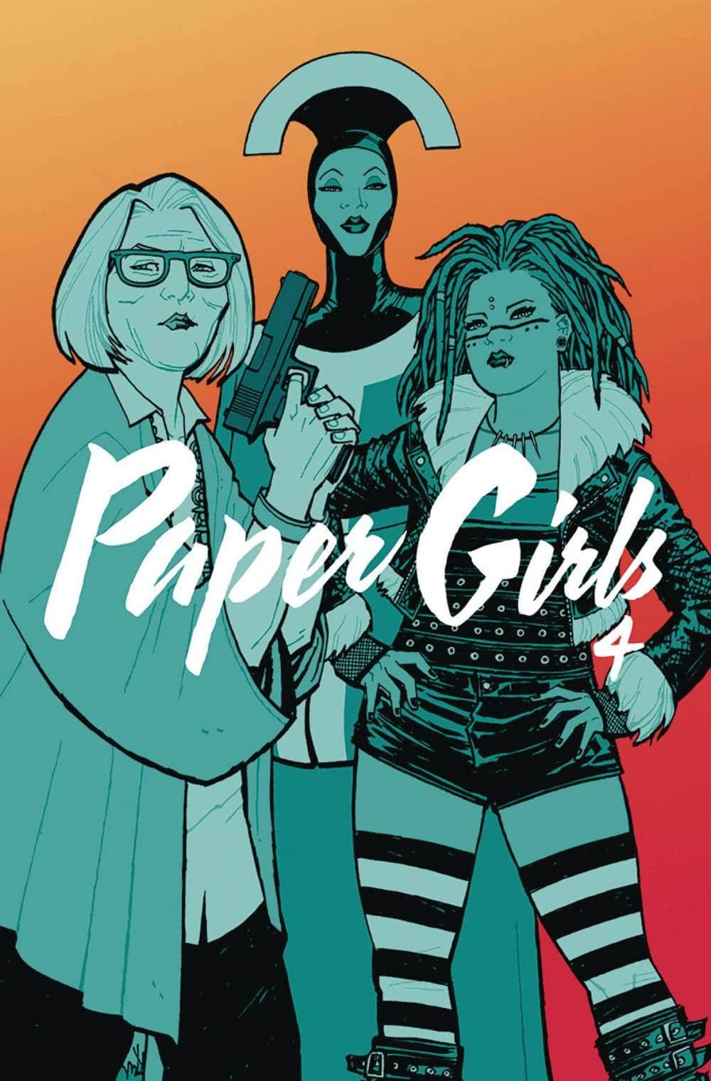Volumen 4 de Paper Girls