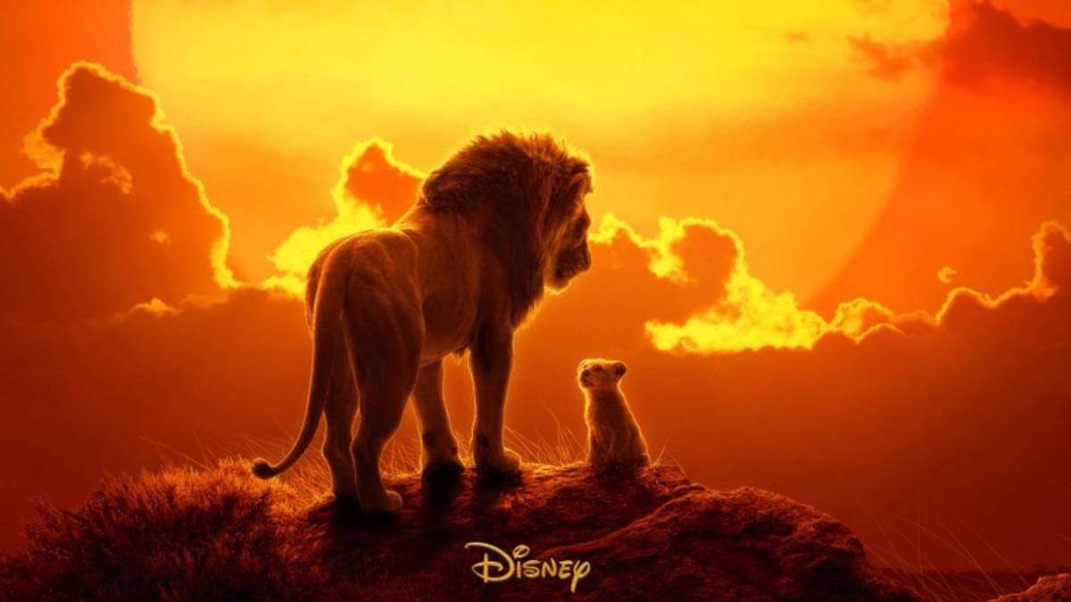 Cartel de El rey león