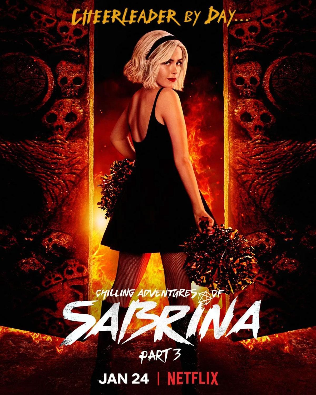 Cartel de la temporada 3 de Sabrina
