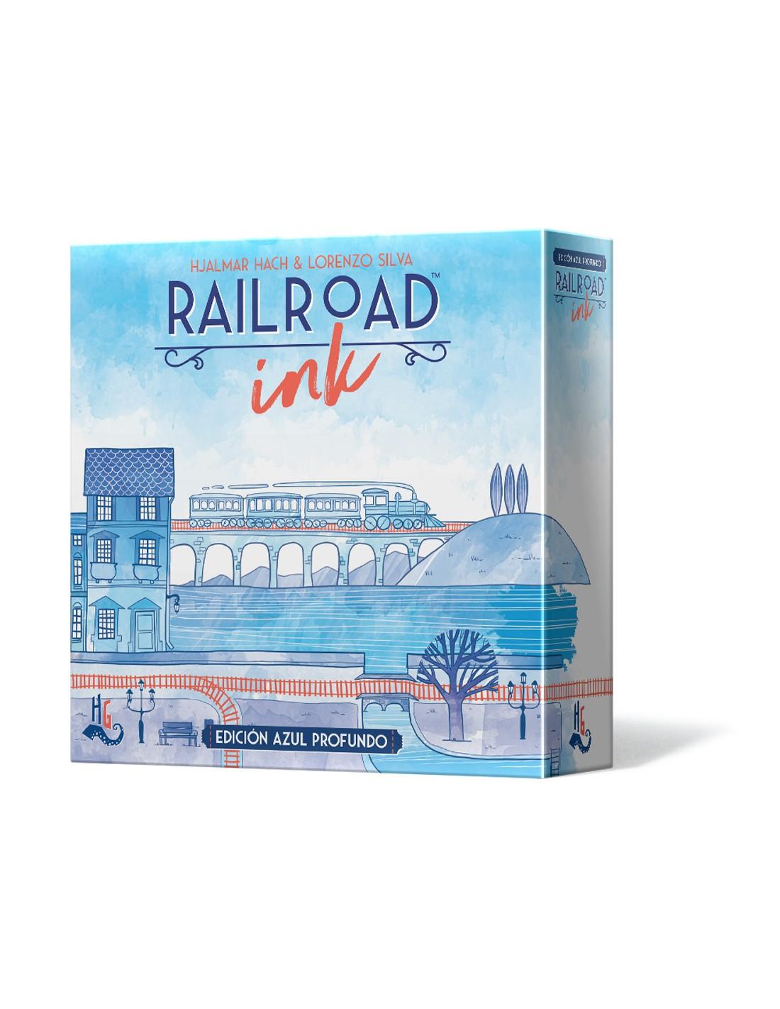Juego de Railroad Ink