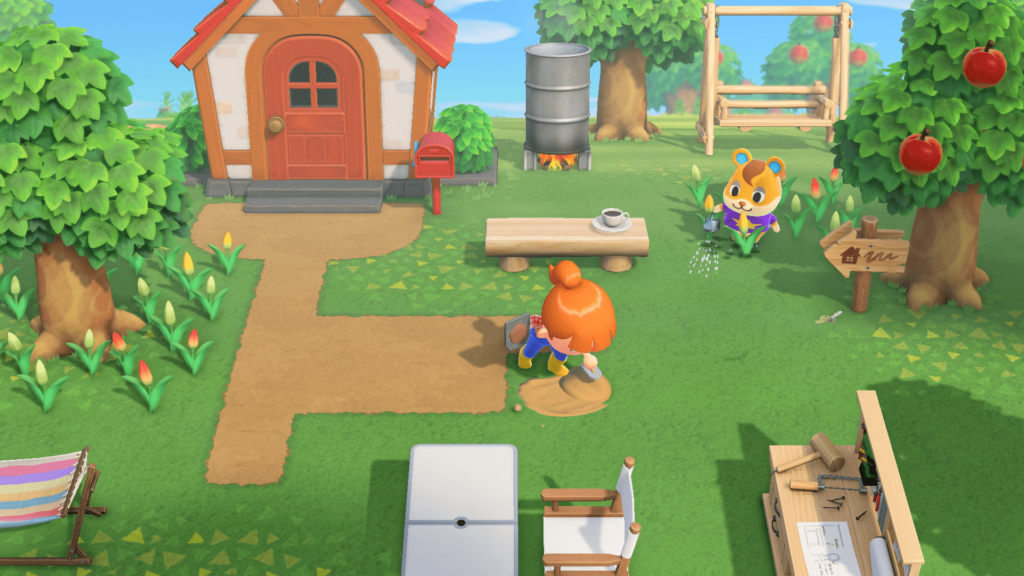 Jugar a Animal Crossing: New Horizons